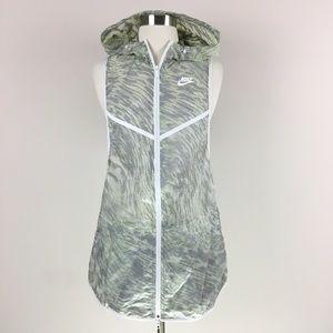Nike Sleeveless Hoodie Rain Wind Breaker XS
